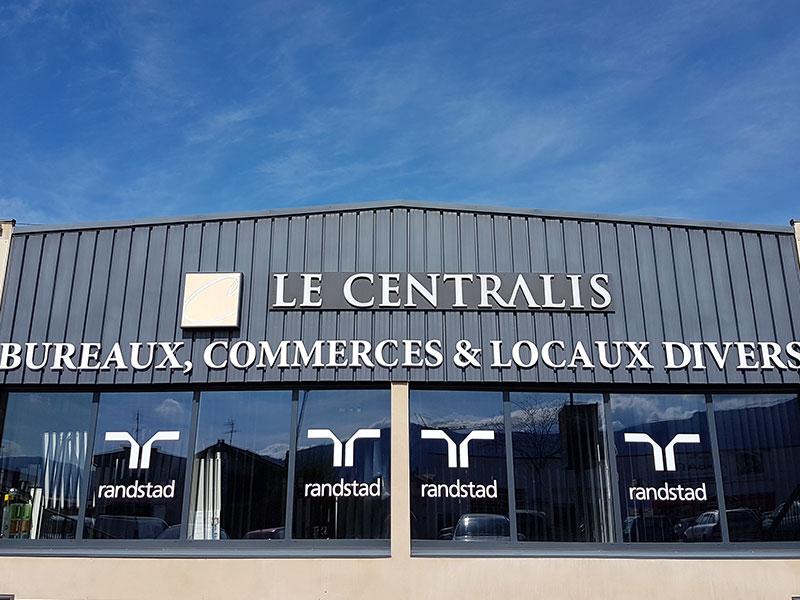 bâtiment entreprises Saint-Marcellin - location salle de réunion isère