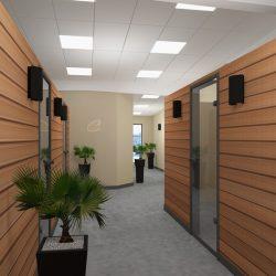 entreprise couloir - salle de réunion isère
