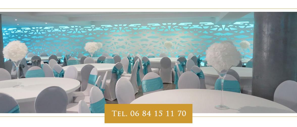 fête décoration - salle de réception