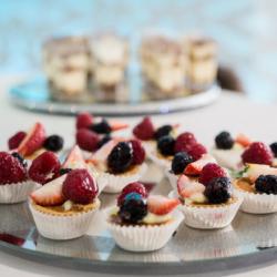 dessert fruit mignardise - location salle de réception