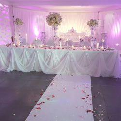 décoration princesse amour - location salle de mariage isère