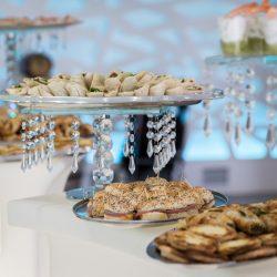 buffet apéritif amuse bouche - salle de réception isère