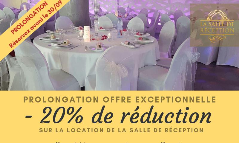 promotion location salle de reception - location salle mariage pas cher